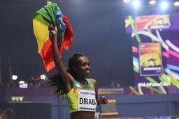 Mondiaux d'athlétisme en salle - Genzebe Dibaba gagne aussi le 1.500m dames