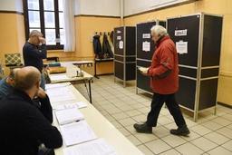 Elections législatives en Italie - Ouverture des bureaux de vote pour des législatives à l'issue incertaine