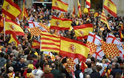 Catalogne: manifestation pour