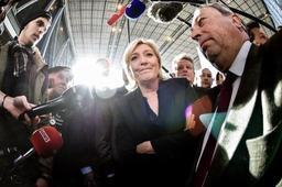 Elections législatives en Italie - Marine Le Pen se réjouit des premiers résultats