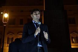 Elections législatives en Italie - Le Mouvement 5 Etoiles fête son
