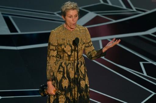 Frances McDormand Oscar de la meilleure actrice pour