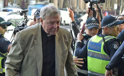 Abus sexuels: audience cruciale à Melbourne pour le cardinal Pell