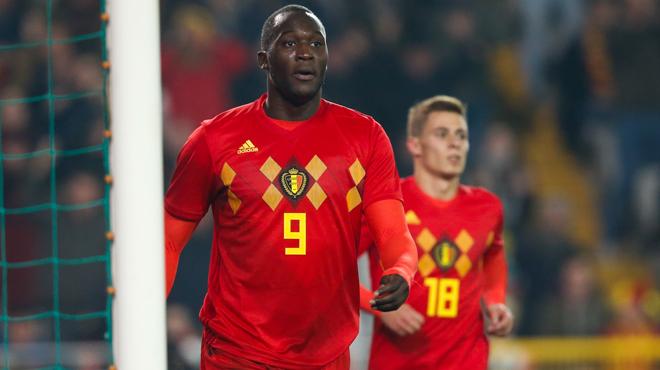 Romelu Lukaku ne craint pas la concurrence chez les Diables Rouges: