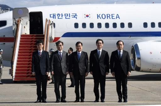 Des émissaires de Séoul arrivent au Nord pour rencontrer Kim Jong Un
