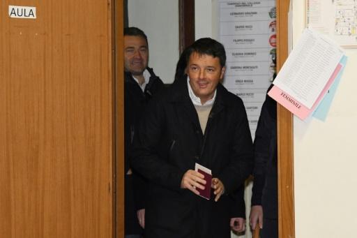 Italie: Matteo Renzi le mal aimé, poussé vers la sortie aux législatives