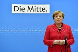 Merkel promet de se mettre rapidement au travail au nom de l'Europe