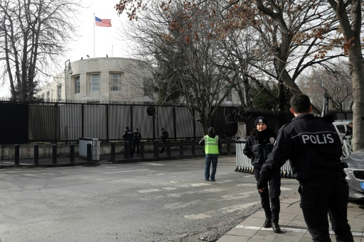Turquie: arrestation de 4 Irakiens qui projetaient d'attaquer l'ambassade américaine
