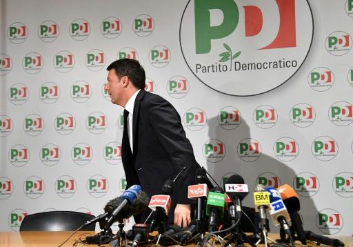 Italie: Renzi quitte la direction du Parti démocrate après sa défaite électorale