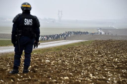Bure: prison avec sursis pour un opposant, sept gardes à vue en cours