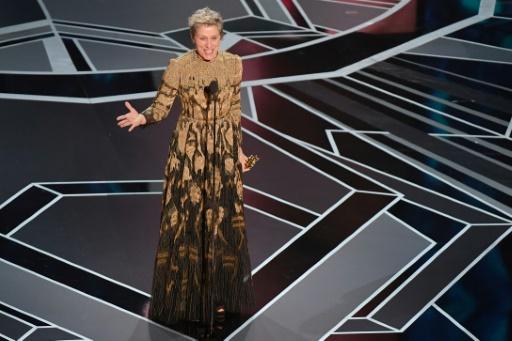 L'Oscar de Frances McDormand brièvement subtilisé, les chiffres d'audience chutent
