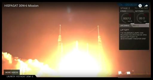 SpaceX réalise son 50e lancement de Falcon 9