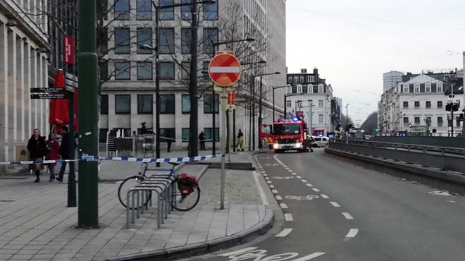 Frayeur au parquet de Bruxelles ce matin: le bâtiment évacué