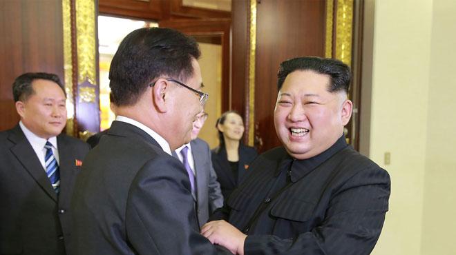 Rencontre historique: les deux Corées vont tenir un sommet à la frontière en avril