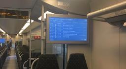Un tiers de la flotte de la SNCB équipé de nouveaux écrans d'information