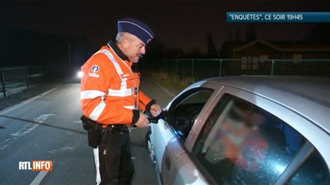 Un policier interpelle un conducteur positif au test cannabis devant nos caméras: