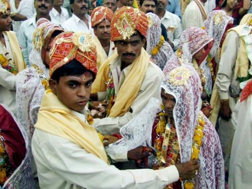 Net déclin des mariages d'enfants, notamment en Inde
