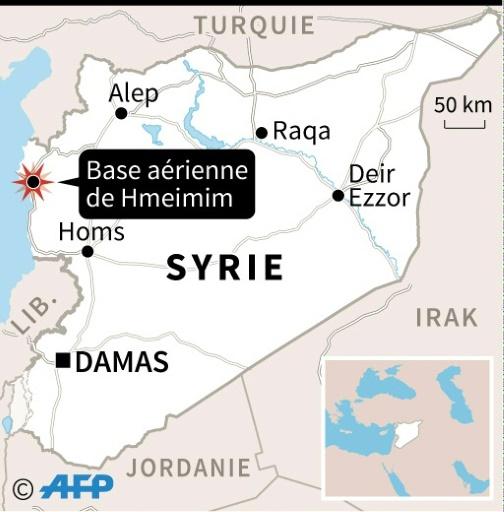 Syrie: un avion militaire russe s'écrase, 32 morts
