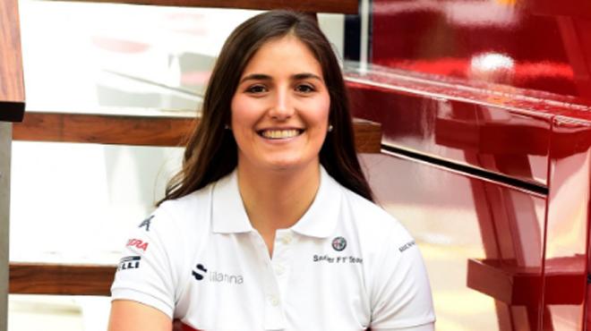Tatiana Calderón confirmée comme pilote d'essais Alfa Romeo Sauber