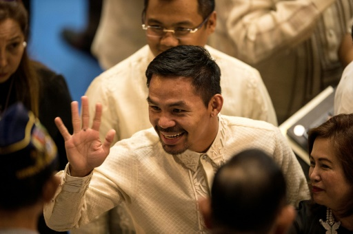 Boxe: Pacquiao annonce son prochain combat pour mai ou juin en Malaisie