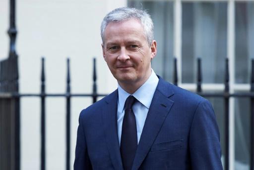 Brexit: Le Maire exclut les services financiers d'un accord de libre-échange