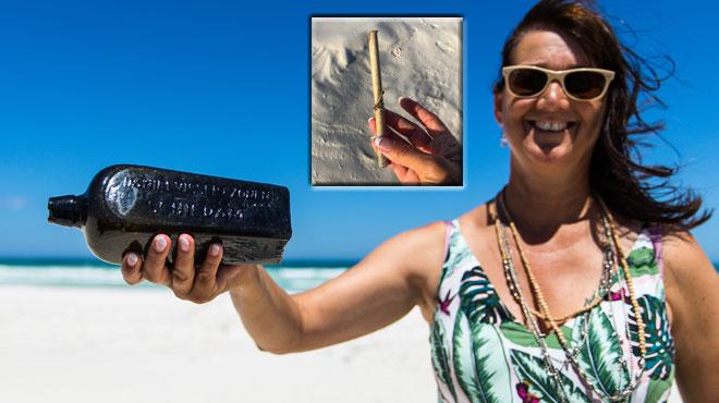 La plus ancienne bouteille à la mer de l'histoire vient d'être retrouvée: découvrez ce qui avait été envoyé en 1886 (photos et vidéo)