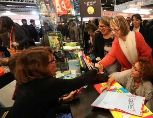 Salon Livre Paris: Nyssen juge