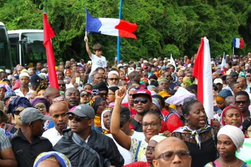 Nouvelle manifestation contre l'insécurité à Mayotte