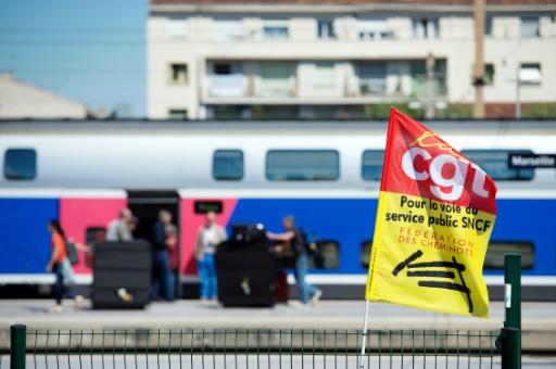 SNCF: la CGT dégaine son contre-projet pour