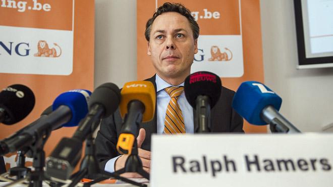 Après avoir supprimé des milliers d'emplois en Belgique, ING augmente son patron de 50%