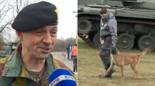 La surveillance des casernes militaires belges confiée à... Securitas: