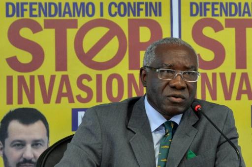 Tony Iwobi, l'immigré anti-clandestins, premier sénateur noir d'Italie