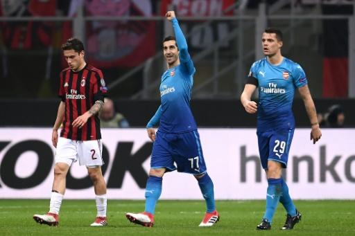 Europa League: Arsenal vit encore et assomme le Milan