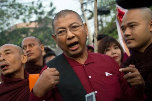 Birmanie: sortie de prison pour un moine ultra-nationaliste