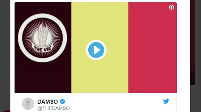 Évincé par l'Union Belge, le rappeur Damso vient-il de révéler la chanson qu'il avait écrite pour les Diables?