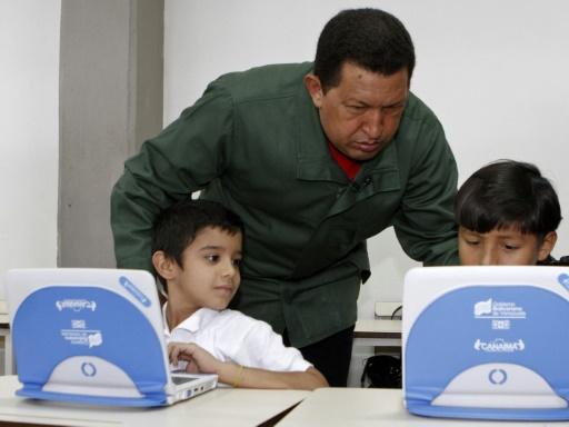 Venezuela: les ordis portables des écoliers retrouvés au casino