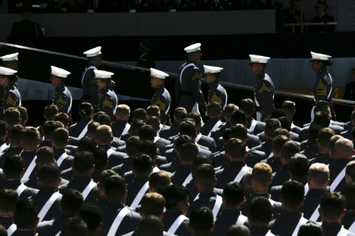 USA: défilé militaire le 11 novembre à Washington (Pentagone)