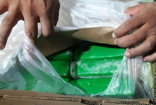 Colombie: saisie de 1,6 tonne de cocaïne en partance pour la Belgique