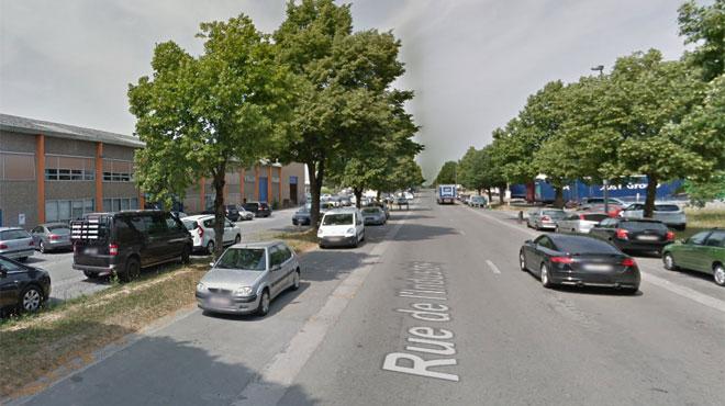 Un incendie a éclaté ce matin dans le parc industriel de Nivelles