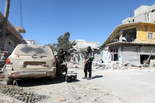 Syrie: l'armée turque aux abords d'Afrine, bastion d'une milice kurde