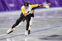 Mondiaux de patinage de vitesse - Bart Swings a pris du plaisir à patiner samedi