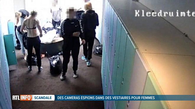 Un voyeur filmait des jeunes filles dans les vestiaires aux Pays-Bas et les balançait sur un forum porno: un complexe sportif belge concerné