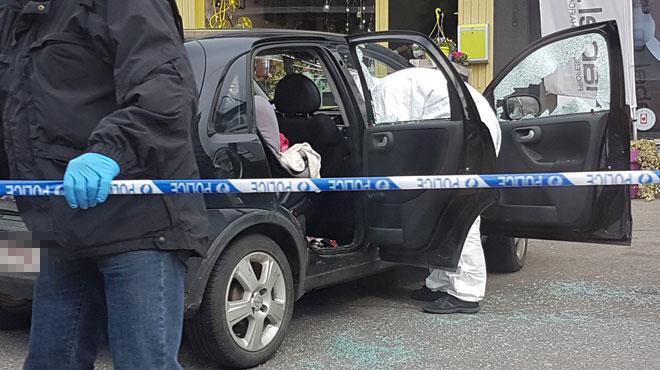 Coups de feu et voiture criblée de balles à Oupeye: trois personnes interpellées