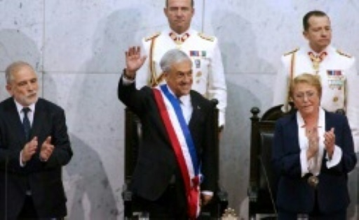 Chili : le conservateur Sebastian Pinera investi président