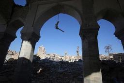 Les Emirats veulent reconstruire le minaret penché emblématique de Mossoul