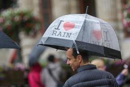 Météo: de la pluie et du vent au menu