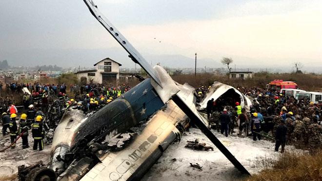 Crash d'un avion bangladais au Népal: le bilan passe à 40 morts