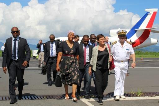 Climat très orageux pour la ministre en visite à Mayotte