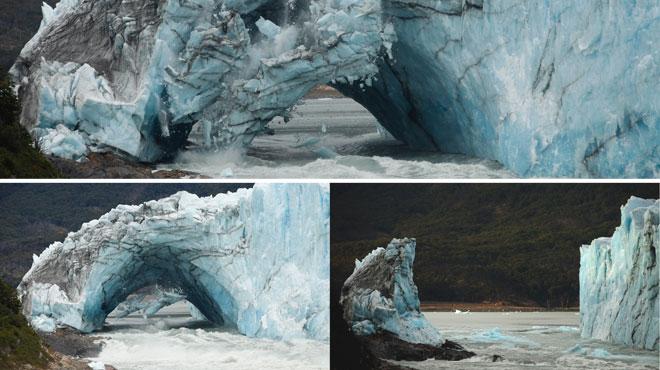 L'arche de ce célèbre glacier argentin s'est effondrée: elle se régénérera, contrairement aux autres qui fondent