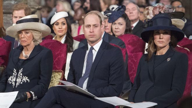 Meghan Markle participe à son premier événement officiel avec la Reine et le reste de la famille royale (photos)